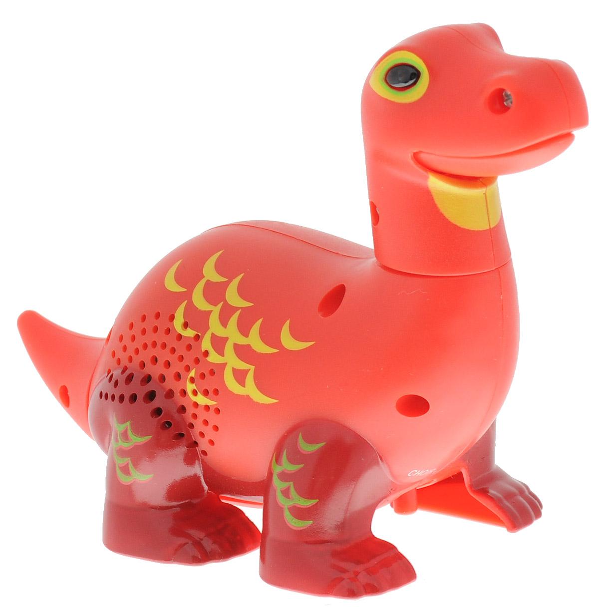 DigiFriends Интерактивная игрушка Динозавр цвет красный тер минасова записки динозавра купить
