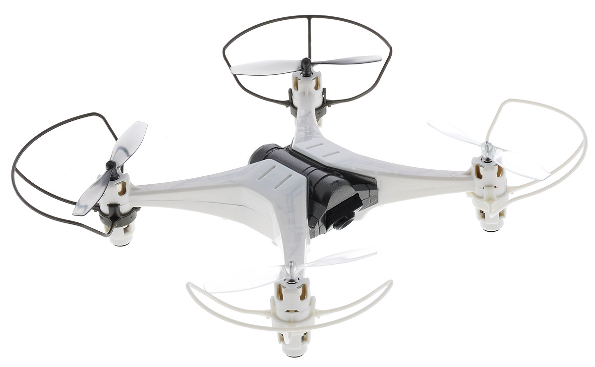 silverlit квадрокоптер селфи с камерой цвет голубой Silverlit Квадрокоптер на радиоуправлении Spy Drone II цвет белый серый