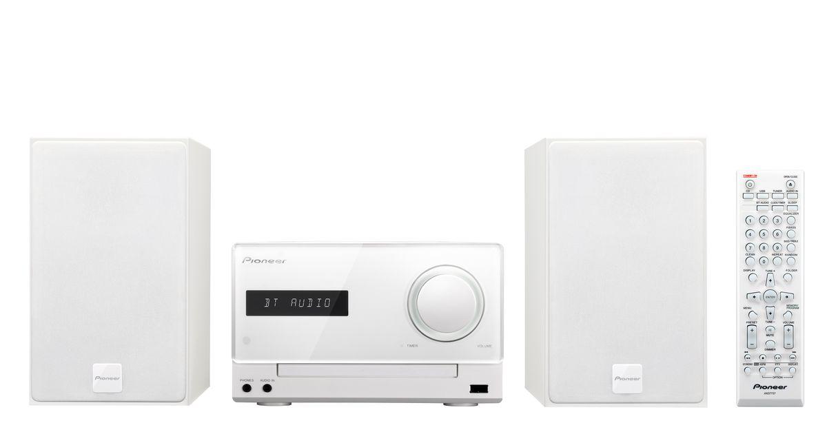 Pioneer X-CM35-W, White музыкальный центр - Музыкальные центры