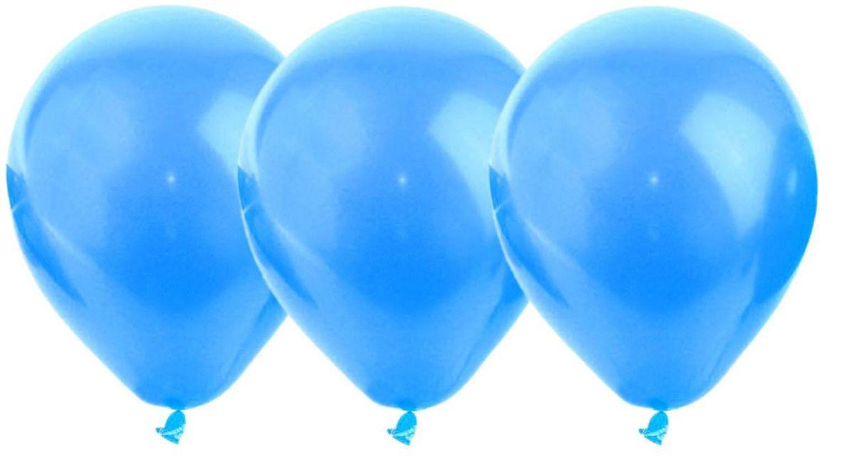 Страна Карнавалия Воздушеый шар латекс цвет синий 25 шт