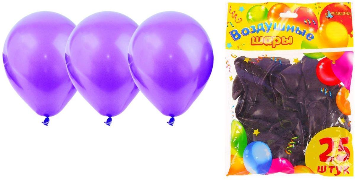 Фото - Страна Карнавалия Шар латекс 25 шт Пастель Фиолетовый 10 товары для праздника guoguo 2013