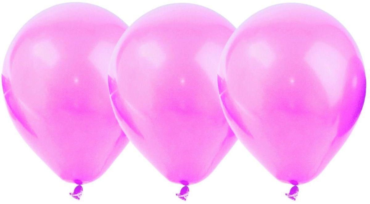 Страна Карнавалия Набор воздушных шариков цвет розовый 100 шт