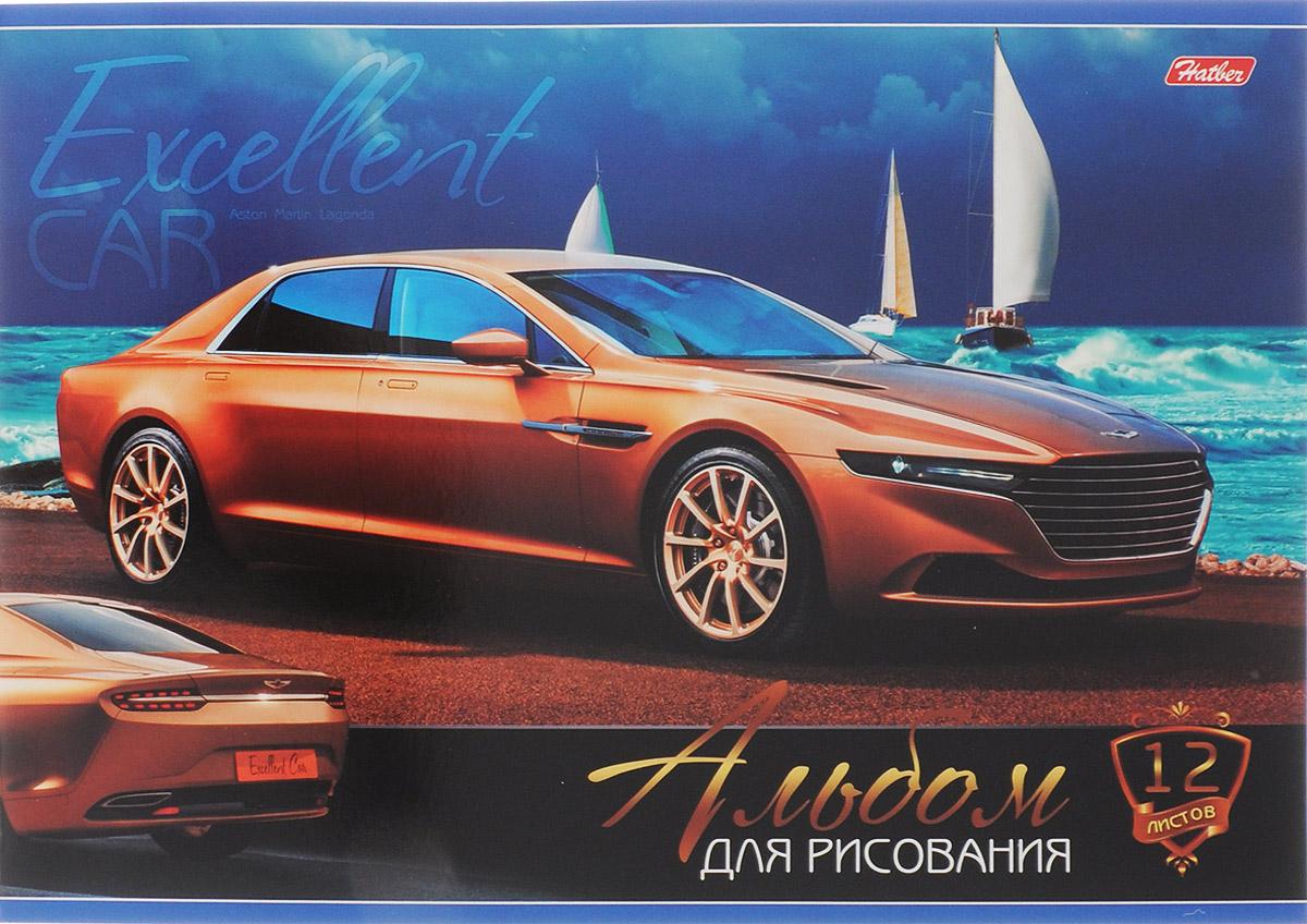 Hatber Альбом для рисования Aston Martin Lagonda 12 листов12А4В_15262Альбом для рисования Hatber Aston Martin Lagonda будет вдохновлять ребенка на творческий процесс.Альбом изготовлен из белоснежной бумаги с яркой обложкой из плотного картона, оформленной изображением легкового автомобиля класса люкс. Внутренний блок альбома состоит из 12 листов бумаги, скрепленных двумя металлическими скрепками.Высокое качество бумаги позволяет рисовать в альбоме карандашами, фломастерами, акварельными и гуашевыми красками. Во время рисования совершенствуются ассоциативное, аналитическое и творческое мышления. Занимаясь изобразительным творчеством, малыш тренирует мелкую моторику рук, становится более усидчивым и спокойным.