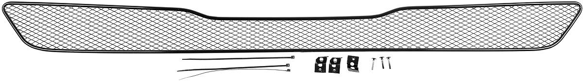 Сетка для защиты радиатора Novline-Autofamily, внешняя, для Infinity QX70 (2014-)01-260414-151Сетка для защиты радиатора Novline-Autofamily изготовлена из антикоррозионного материала, что гарантирует отсутствие ржавчины в процессе эксплуатации. Изделие устанавливается на штатную решетку переднего бампера автомобиля, защищая таким образом радиатор от попадания камней, крупных насекомых, мелких птиц. Простая установка делает это изделие необыкновенно удобным. В отличие от универсальных сеток, для установки которых требуется снятие бампера, то есть наличие специализированных навыков и дополнительного оборудования (подъемник и так далее), для установки этой сетки понадобится 20 минут времени и отвертка. Данный продукт разработан индивидуально под каждый бампер автомобиля. Внешняя защитная сетка радиатора полностью повторяет геометрию решетки бампера и гармонично вписывается в общий стиль автомобиля.