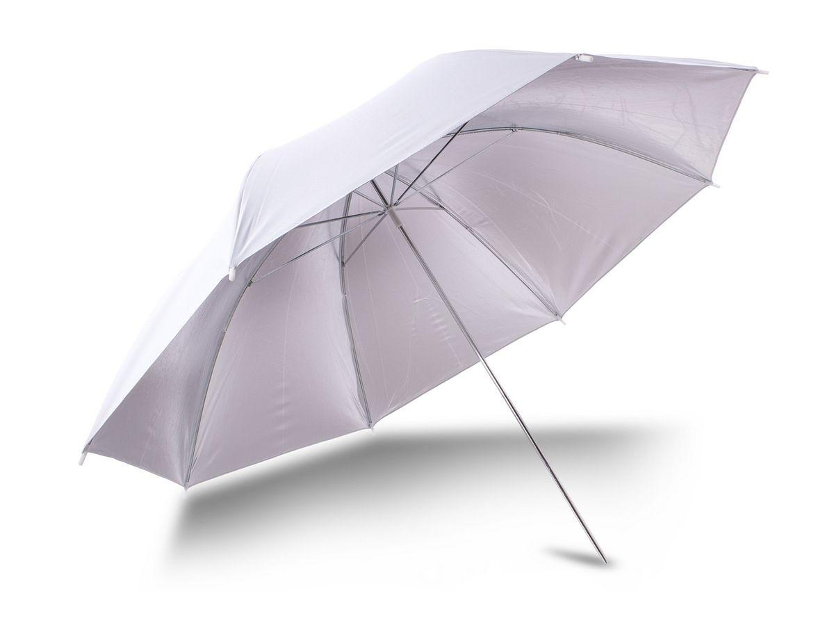 Ditech UB33WS, White Silver зонт для фотосъемкиUB33WSЗонт Ditech UB33WS применяется практически для всех видов студийной съемки. Он имеет две глянцевые отражающие поверхности: белую и серебристую, которые, в зависимости от поставленных задач можно заменить в течение нескольких минут.