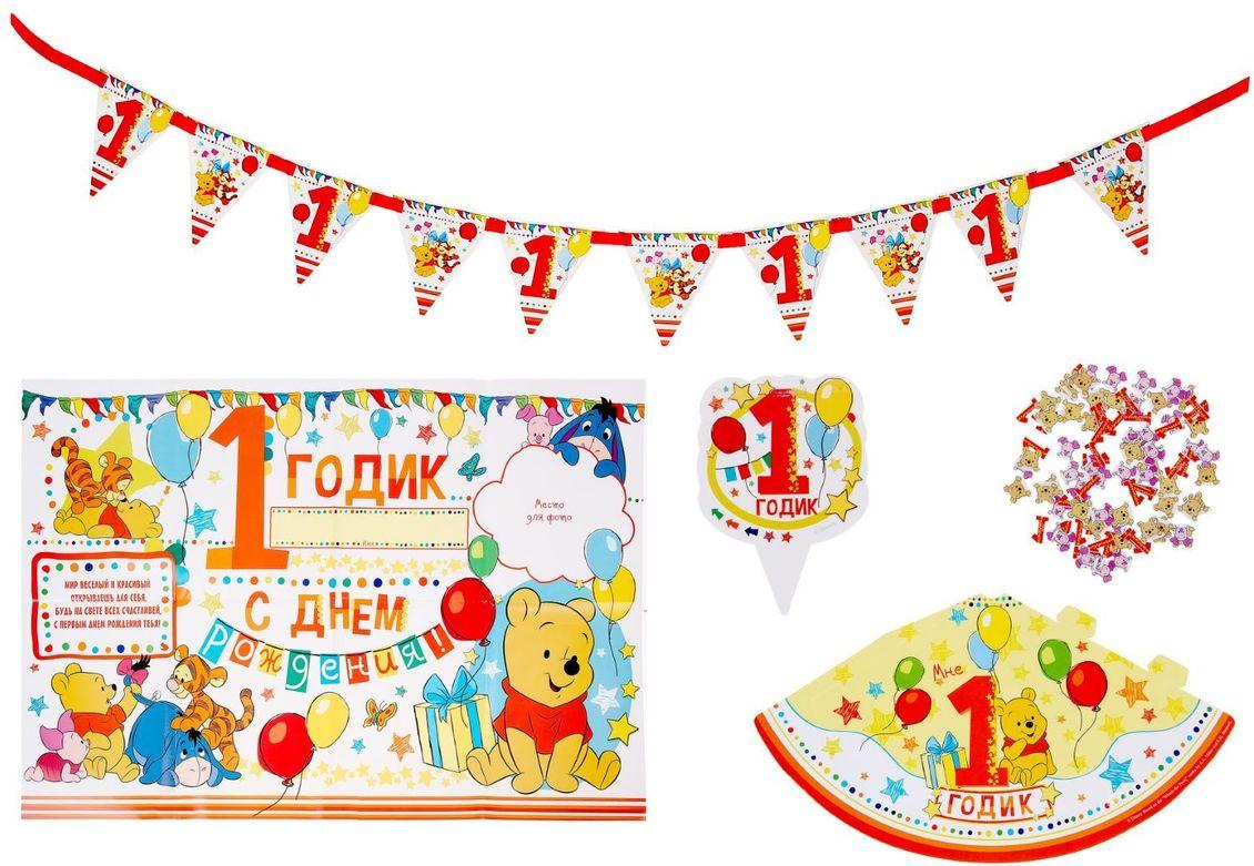 Disney Гирлянда Медвежонок Винни и друзья disney набор для проведения детского праздника крутой день рождения тачки