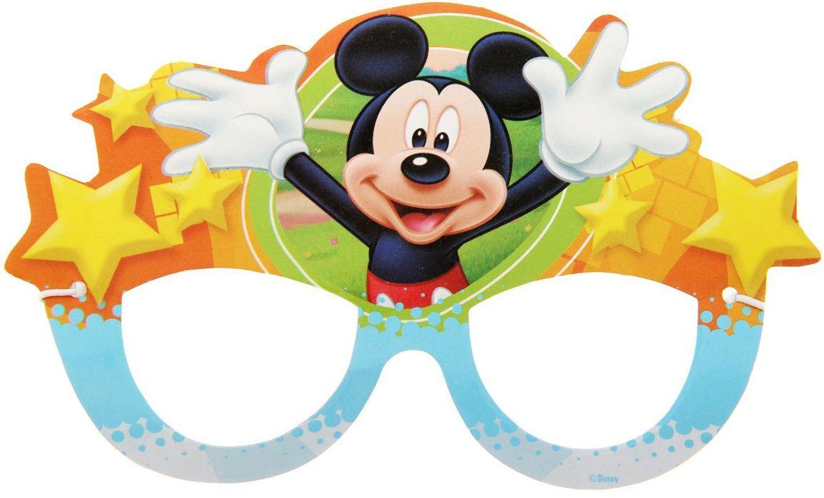 Disney Очки карнавальные детские Микки Маус -  Очки карнавальные