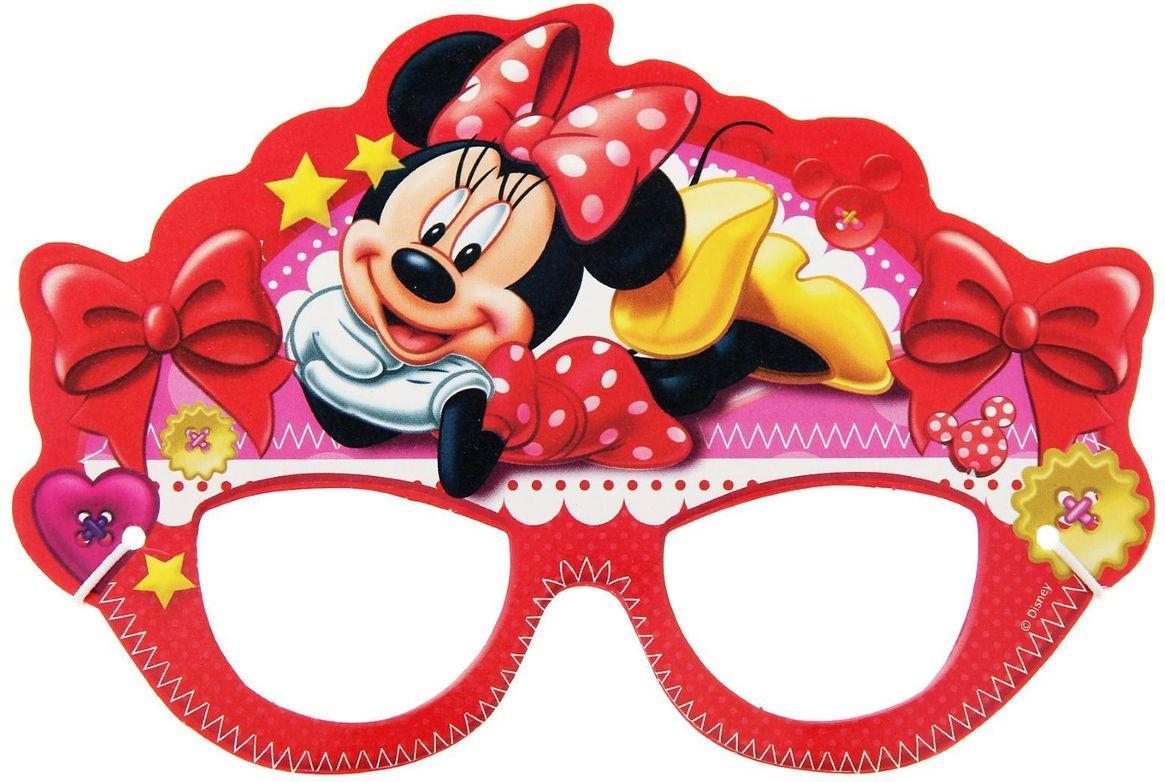 Disney Очки карнавальные детские Минни Маус -  Очки карнавальные