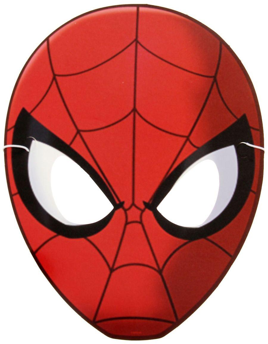 Marvel Маска карнавальная детская Человек Паук marvel маска карнавальная детская железный человек