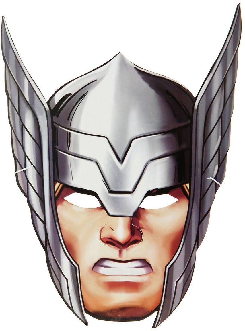 Marvel Маска карнавальная детская Тор маска карнавальная для вечеринки ens 19 9 см