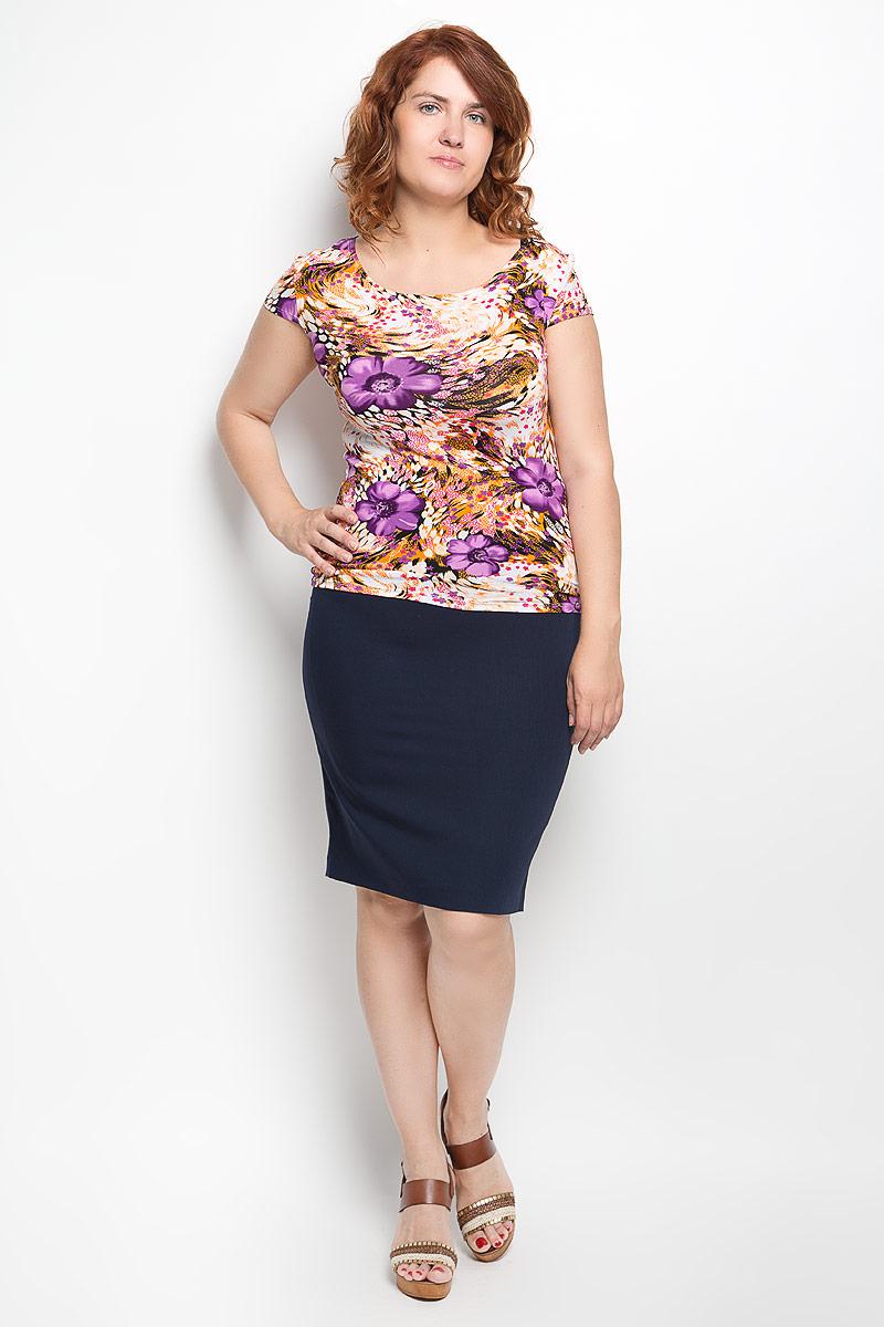 Юбка Milana Style, цвет: темно-синий. 30316. Размер 4630316Эффектная юбка-карандаш Milana Style выполнена из хлопка с добавлением полиамида, она обеспечит вам комфорт и удобство при носке. Такой материал обладает высокой гигроскопичностью, великолепно пропускает воздух и не раздражает кожуОднотонная юбка-карандаш застегивается на потайную застежку-молнию сбоку, на поясе имеются шлевки для ремня. Модная юбка выгодно освежит и разнообразит ваш гардероб. Создайте женственный образ и подчеркните свою яркую индивидуальность! Классический фасон и оригинальное оформление этой юбки позволят вам сочетать ее с любыми нарядами.