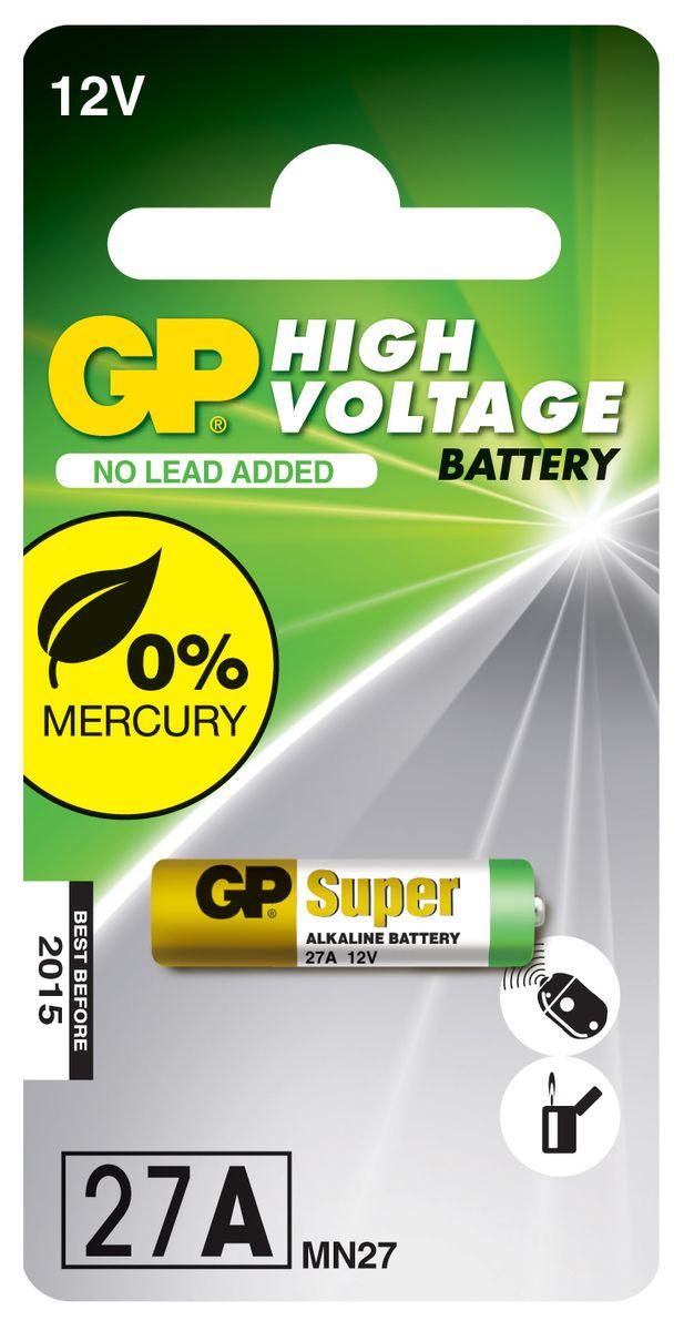 Батарейка высоковольтная GP Batteries, тип 27А2981Высоковольтная батарейка GP Batteries включают в себя целый ряд элементов питания марганцево-цинковой системы с щелочным электролитом. Все батареи этой системы представляют собой набор элементов дисковой конструкции, собранных в единый металлический корпус. Такие батареи отличаются высоким разрядным напряжением от 6 до 15 В. Улучшенные характеристики батарей позволяют эффективно использовать их в современных цифровых охранных комплексах. Также используются в пультах дистанционного управления, детских игрушках, цифровых органайзерах.