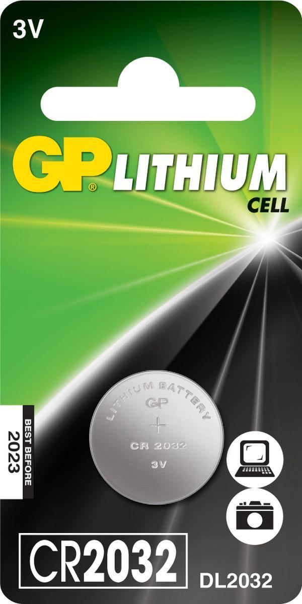 Батарейка литиевая GP Batteries, тип СR2032, 3В8984Литиевая батарейка GP Batteries типа СR2032 предназначена для обеспечения питания мелкогабаритной техники: карманных фонариков, фотоаппаратов, а также для медицинских приборов. Батарейка создана для устройств с высоким потреблением энергии. Особенности: - на 40% легче обычных батареек;- демонстрирует превосходный результат при экстремальных погодных условиях (от -40°C до 60°C);- встроенная система защиты.Уважаемые клиенты! Обращаем ваше внимание на возможные изменения в дизайне упаковки. Качественные характеристики товара остаются неизменными. Поставка осуществляется в зависимости от наличия на складе.