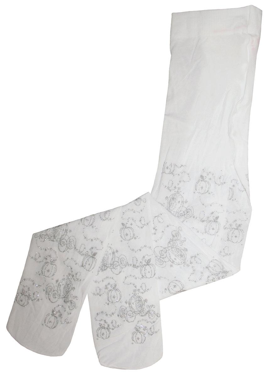 Фото Колготки для девочки Master Socks Disney Princess, цвет: белый. 11246. Размер 110/116