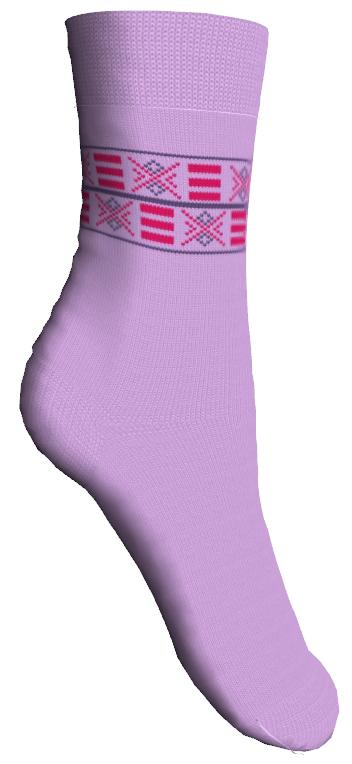 Носки детские Master Socks, цвет: сиреневый. 52007. Размер 2452007Мягкие детские носки Master Socks изготовлены из эластичного хлопка, эластана и полиамида. Ткань очень приятная на ощупь, хорошо тянется, не деформируясь. Эластичная резинка мягко облегает ножку ребенка, обеспечивая удобство и комфорт. Модель оформлена орнаментом.Такие носочки станут отличным дополнением к детскому гардеробу!Уважаемые клиенты!Размер, доступный для заказа, является длиной стопы.