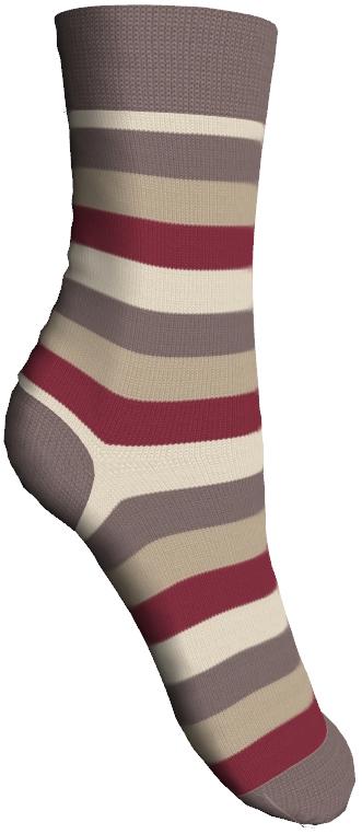 Носки детские Master Socks Sunny Kids, цвет: капучино. 82602. Размер 1282602Детские носки Master Socks Sunny Kids изготовлены из высококачественных материалов. Ткань очень мягкая и тактильно приятная. Содержание бамбука в составе обеспечивает высокую прочность, эластичность и воздухопроницаемость. Изделие хорошо стирается, длительное время сохраняет привлекательный внешний вид. Эластичная резинка мягко облегает ножку ребенка, обеспечивая удобство и комфорт. Модель оформлена принтом в полоску. Удобные и прочные носочки станут отличным дополнением к детскому гардеробу!Уважаемые клиенты!Размер, доступный для заказа, является длиной стопы.