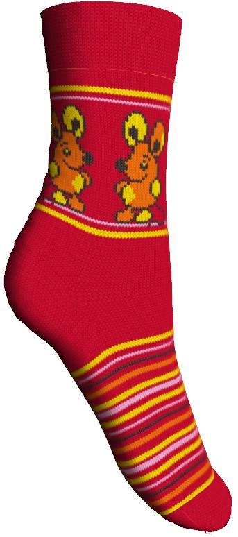 Носки детские Master Socks Sunny Kids, цвет: красный. 82605. Размер 1482605Комфортные и прочные носки Master Socks Sunny Kids выполнены из бамбука и эластичного хлопка с добавлением полиамида. Материал изделия очень мягкий и приятный на ощупь, хорошо тянется, не деформируясь.Эластичная резинка мягко облегает ножку ребенка, обеспечивая удобство и комфорт. Модель оформлена принтом в полоску, украшена объемным изображением забавных мышек, связанным из пряжи с петельками.Такие носочки станут отличным дополнением к детскому гардеробу! Уважаемые клиенты!Размер, доступный для заказа, является длиной стопы.
