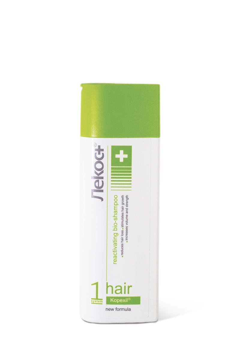 Лекос+ Био-шампунь АКТИВИЗИРУЮЩИЙ, 200 г6761Революционный шампунь для укрепления волос изнутри и ускорения их роста. Уникальный компонент био-шампуня Kopexil® активизирует кровоснабжение волосяной луковицы, продлевает фазу роста волос, помогает остановить преждевременное выпадение волос, утолщает их и стимулирует рост.Используйте при выпадении волос после сильного стресса, после родов, после общего наркоза, при заболеваниях кожи головы, при неблагоприятной экологии, при акклиматизации, после окрашивания и химической завивки.