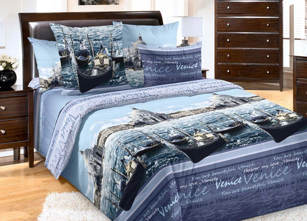 Комплект белья Primavera Венеция, 2-спальный, наволочки 70x7080809Комплект постельного белья Primavera Венеция является экологически безопасным для всей семьи, так как выполнен из высококачественного перкаля. Комплект состоит из пододеяльника, простыни и двух наволочек. Постельное белье оформлено ярким рисунком и имеет изысканный внешний вид. Перкаль представляет собой очень прочную ткань высочайшего качества, которую производят из чесаного хлопка. Перкаль обладает матовой, слегка бархатистой поверхностью. Несмотря на высокую прочность и плотность, перкаль - мягкий и нежный материал. Приобретая комплект постельного белья Primavera Венеция, вы можете быть уверенны в том, что покупка доставит вам и вашим близким удовольствие и подарит максимальный комфорт.