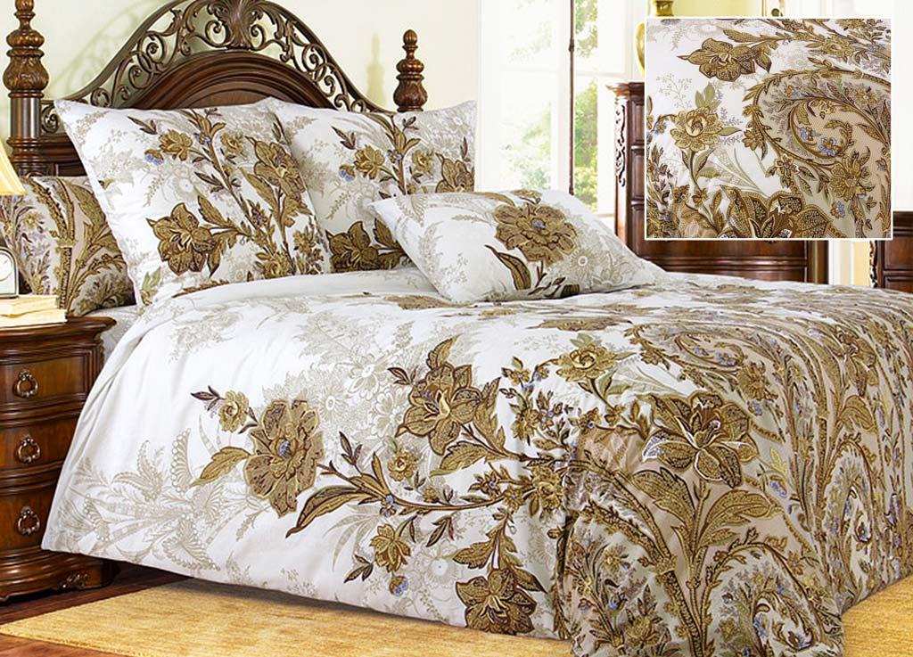 Комплект белья Primavera Музей, 2-спальный, наволочки 70x7080885Комплект постельного белья Primavera Музей является экологически безопасным для всей семьи, так как выполнен из высококачественного перкаля. Комплект состоит из пододеяльника, простыни и двух наволочек. Постельное белье оформлено ярким цветочным рисунком и имеет изысканный внешний вид. Перкаль представляет собой очень прочную ткань высочайшего качества, которую производят из чесаного хлопка. Перкаль обладает матовой, слегка бархатистой поверхностью. Несмотря на высокую прочность и плотность, перкаль - мягкий и нежный материал. Приобретая комплект постельного белья Primavera Музей, вы можете быть уверенны в том, что покупка доставит вам и вашим близким удовольствие и подарит максимальный комфорт.