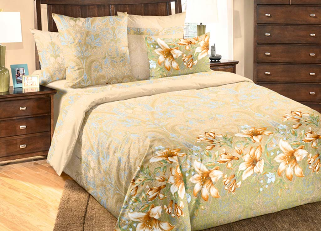 Комплект белья Primavera Жозефина, семейный, наволочки 70x7080901Комплект постельного белья Primavera Жозефина является экологически безопасным для всей семьи, так как выполнен из высококачественного перкаля. Комплект состоит из двух пододеяльников, простыни и двух наволочек. Постельное белье оформлено ярким цветочным изображением и имеет изысканный внешний вид. Перкаль представляет собой очень прочную ткань высочайшего качества, которую производят из чесаного хлопка. Перкаль обладает матовой, слегка бархатистой поверхностью. Несмотря на высокую прочность и плотность, перкаль - мягкий и нежный материал. Приобретая комплект постельного белья Primavera Жозефина, вы можете быть уверенны в том, что покупка доставит вам и вашим близким удовольствие и подарит максимальный комфорт.