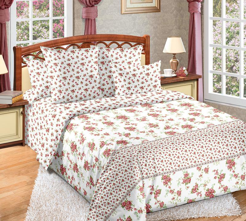 Комплект белья Primavera Мирабель, 2-спальный, наволочки 70x7086822Комплект постельного белья Primavera Мирабель является экологически безопасным для всей семьи, так как выполнен из высококачественного перкаля. Комплект состоит из пододеяльника, простыни и двух наволочек. Постельное белье оформлено ярким цветочным рисунком и имеет изысканный внешний вид. Перкаль представляет собой очень прочную ткань высочайшего качества, которую производят из чесаного хлопка. Перкаль обладает матовой, слегка бархатистой поверхностью. Несмотря на высокую прочность и плотность, перкаль - мягкий и нежный материал. Приобретая комплект постельного белья Primavera Мирабель, вы можете быть уверенны в том, что покупка доставит вам и вашим близким удовольствие и подарит максимальный комфорт.