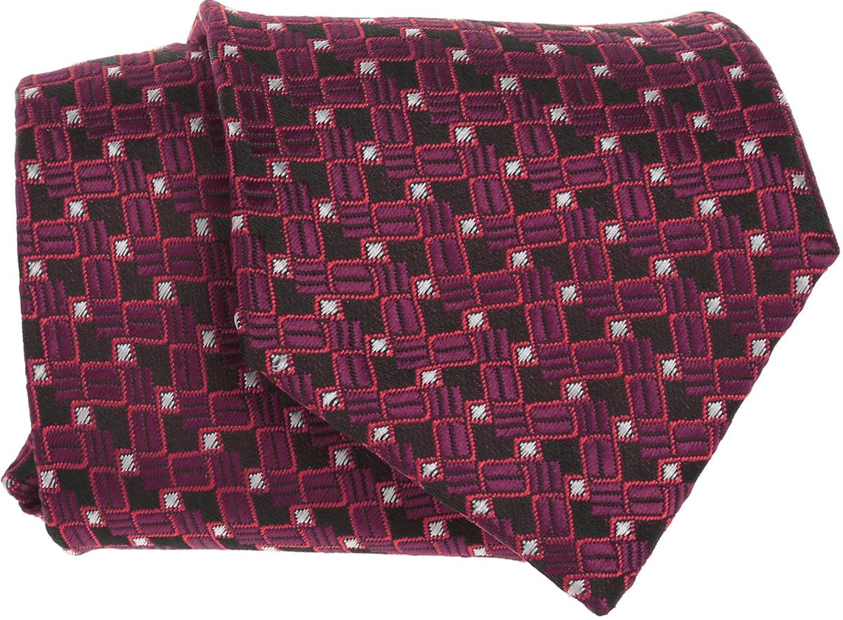 Галстук для мальчика Tsarevich, цвет: бордовый. 103-18. Размер универсальный103-18