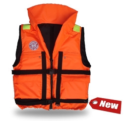 Жилет спасательный Плавсервис Regatta, цвет: оранжевый. Размер 58-64, вес до 120 кг57555Cпасательный жилет Плавсервис Regatta, - серьезно заявляет свои намерения на спасение человеческой жизни на водах. Более функциональный и эргономичный жилет за счет изменения конструкции спинки и проймы, которое позволило обеспечить наиболее полное облегание тела владельца и усилило надежность правильной фиксации этого жилета при попадании человека в воду. В воде с помощью элементов плавучести этот жилет перевернет владельца в положение лицом вверх и удержит под углом к горизонту так, чтобы обеспечить безопасное положение головы над водой. В комплект жилета входят регулировочные ремни, светоотражающие полосы, карманы, молния, свисток, паховая стропа, подголовник с воротником. Карманы – вместе с двумя нагрудными карманами на молнии на жилете Regatta появились два удобных объемных боковых кармана с клапаном на липучке.Подголовник. Обязательное условие сертифицированного спасательного жилета. Ткань Оxford 230D PU1000, внутри которой находятся несколько многослойных сегментов из вспененного полиэтилена. Высокий подголовник такой конструкции хорошо держит голову владельца на плаву и в тоже время обладает достаточной гибкостью для складывания жилета при транспортировке.Элементы плавучести, состоящие из набора НПЭ пластин толщиной 8 мм каждая. Пластины на груди вшиты между основной и подкладочной тканью и обеспечивают стабильное положение на воде владельца лицом вверх.Лямка выполнена из ременной ленты плотностью от 16 г/м2 и является стягивающим элементом. В зависимости от размера спасательного жилета ее длина изменяется. Фиксируется фастексами с достаточным запасом прочности или посредством сдвоенных стальных полуколец.