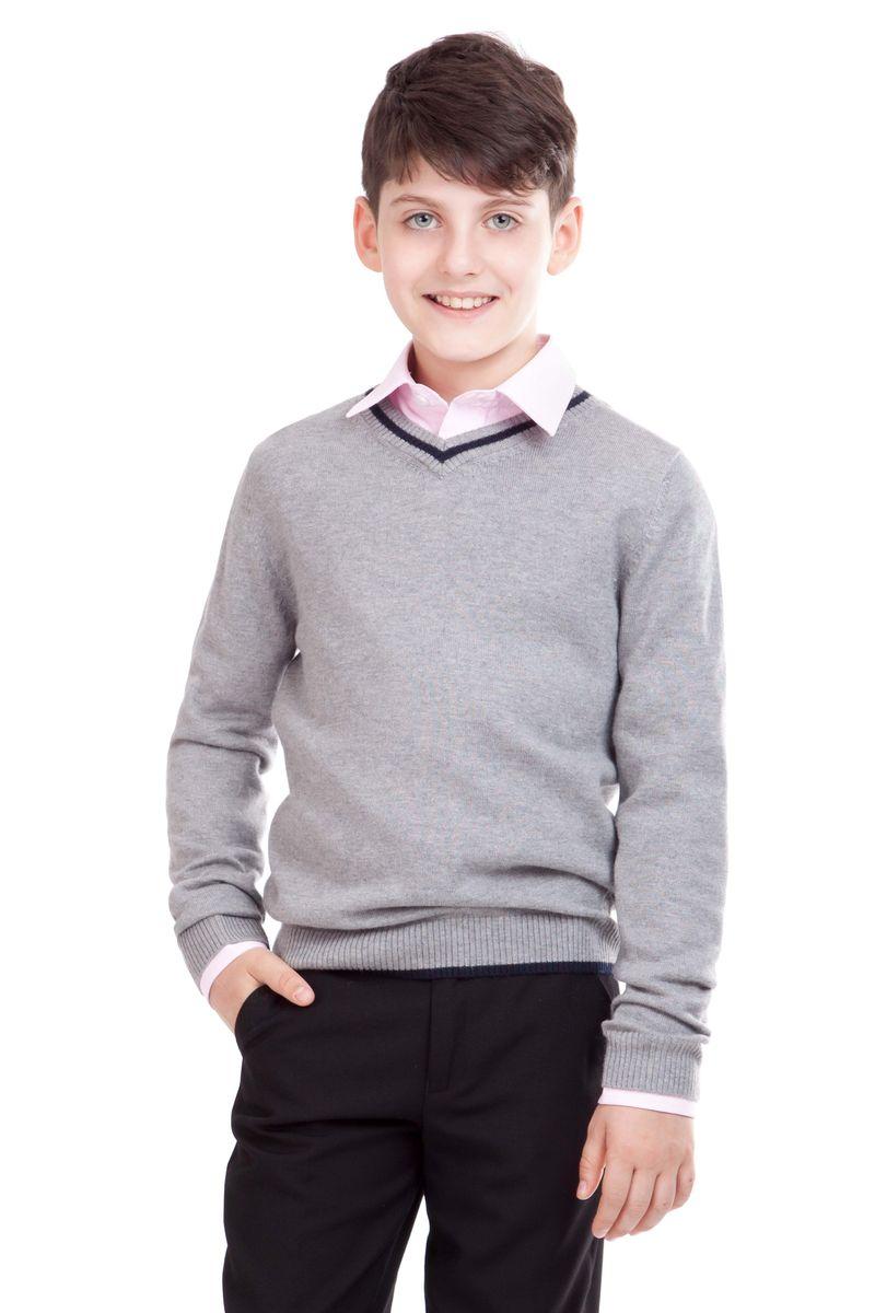 Джемпер для мальчика Gulliver, цвет: серый. 21501BSC3401. Размер 158, 12-13 лет аксессуары для пылесоса sanyo 1400ar bsc wd95 wd90 wd80