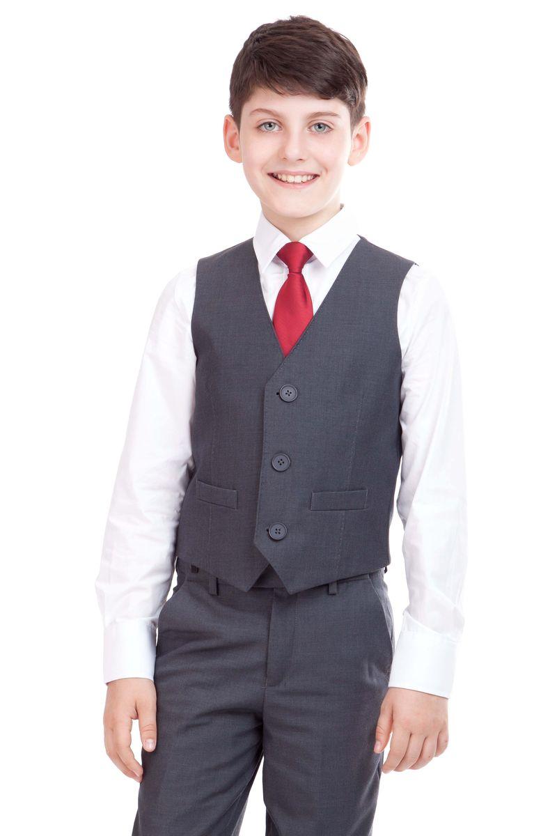 Жилет для мальчика Gulliver, цвет: темно-серый. 21501BSC4702. Размер 170 сумка дамская le tanneur