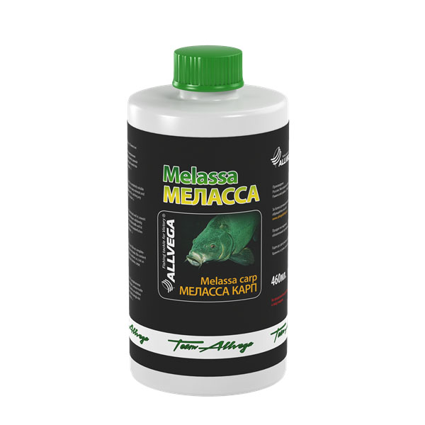 Добавка ароматическая жидкая Allvega Меласса карп, 460 мл allvega