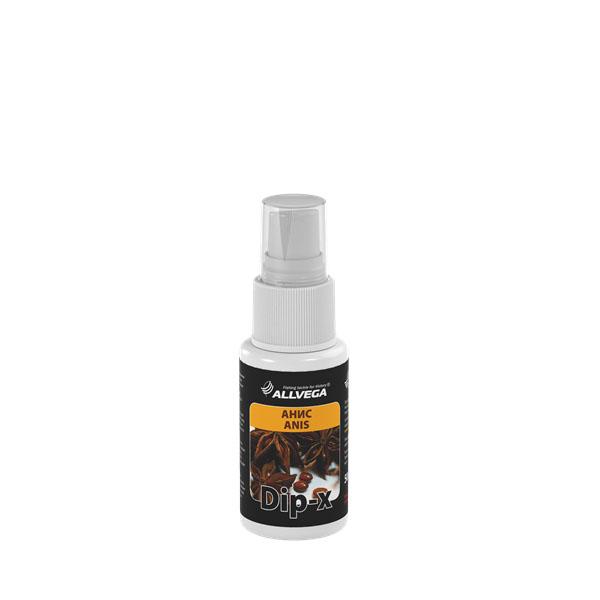 Ароматизатор-спрей Allvega Dip-X Anis, 50 мл52634Высококонцентрированный ароматизатор-спрейAllvega Dip-X Anis предназначен для быстрой ароматизацииразличных наживок и приманок, в том числе искусственных.Обладает запахом аниса.Товар сертифицирован. Объем 50 мл.