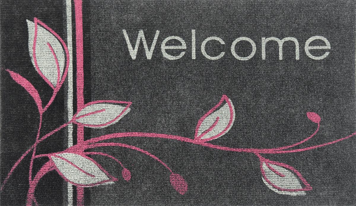 Коврик придверный EFCO Нью Эден, цвет: серый, белый, розовый, 68 х 45 см18420/серОригинальный придверный коврик EFCO Нью Эден надежно защитит помещение от уличной пыли и грязи. Изделие выполнено из 100% полипропилена, основа - суперлатекс. Такой коврик сохранит привлекательный внешний вид на долгое время, а благодаря латексной основе, он легко чистится и моется.