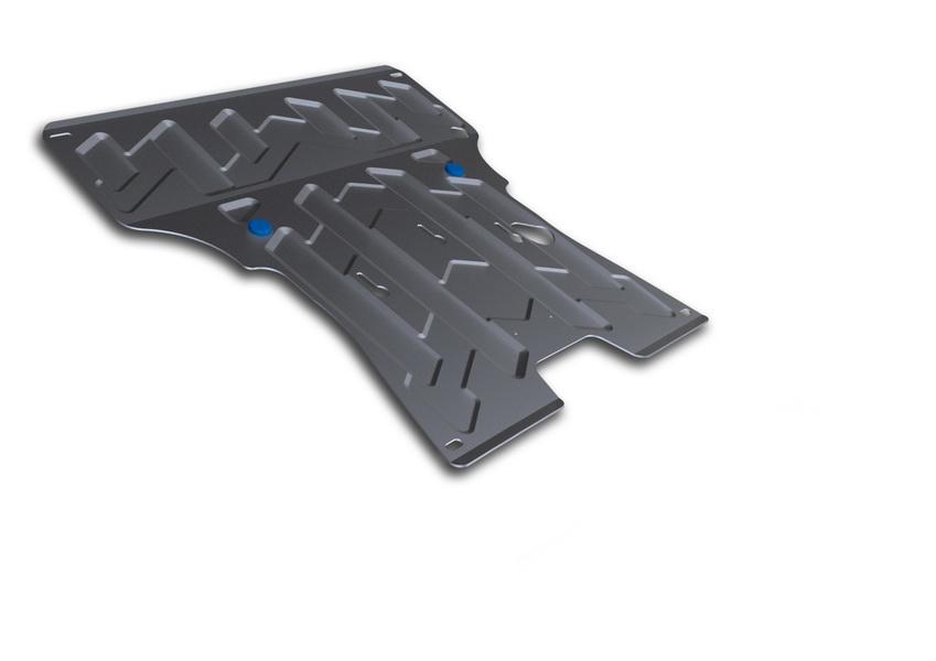 Защита картера и КПП Rival, для AUDI A4/A5. 333.0324.1333.0324.1Защита картера и КПП для Audi A4 , V - Все 2008-2012 2012-2015, крепеж в комплекте, алюминий 4 мм, Rival. Надежно защищают днище вашего автомобиля от повреждений, например при наезде на бордюры, а также выполняют эстетическую функцию при установке на высокие автомобили.- Толщина алюминиевых защит в 2 раза толще стальных, а вес при этом меньше до 30%.- Отлично отводит тепло от двигателя своей поверхностью, что спасает двигатель от перегрева в летний период или при высоких нагрузках.- В отличие от стальных, алюминиевые защиты не поддаются коррозии, что гарантирует срок службы защит более 5 лет.- Покрываются порошковой краской, что надолго сохраняет первоначальный вид новой защиты и защищает от гальванической коррозии.- Глубокий штамп дополнительно усиливает конструкцию защиты.- Подштамповка в местах крепления защищает крепеж от срезания.- Технологические отверстия там, где они необходимы для смены масла и слива воды, оборудованные заглушками, надежно закрепленными на защите.Уважаемые клиенты!Обращаем ваше внимание, на тот факт, что защита имеет форму, соответствующую модели данного автомобиля. Фото служит для визуального восприятия товара.