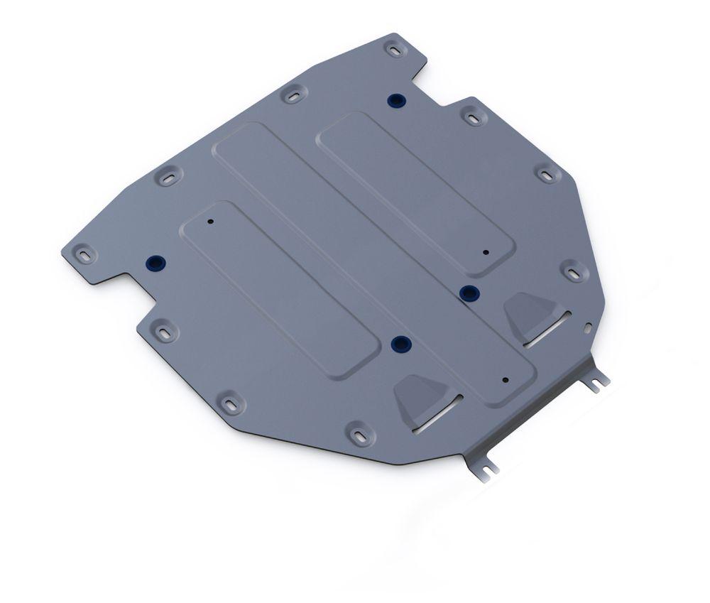 Защита КПП Rival, для AUDI Q7. 333.0330.1333.0330.1Защита КПП для Audi Q7, V - 3,0TFSI; 3,0TFSI S-Line; 3,0TDI 2015-, крепеж в комплекте, алюминий 4 мм, Rival. Надежно защищают днище вашего автомобиля от повреждений, например при наезде на бордюры, а также выполняют эстетическую функцию при установке на высокие автомобили.- Толщина алюминиевых защит в 2 раза толще стальных, а вес при этом меньше до 30%.- Отлично отводит тепло от двигателя своей поверхностью, что спасает двигатель от перегрева в летний период или при высоких нагрузках.- В отличие от стальных, алюминиевые защиты не поддаются коррозии, что гарантирует срок службы защит более 5 лет.- Покрываются порошковой краской, что надолго сохраняет первоначальный вид новой защиты и защищает от гальванической коррозии.- Глубокий штамп дополнительно усиливает конструкцию защиты.- Подштамповка в местах крепления защищает крепеж от срезания.- Технологические отверстия там, где они необходимы для смены масла и слива воды, оборудованные заглушками, надежно закрепленными на защите.Уважаемые клиенты!Обращаем ваше внимание, на тот факт, что защита имеет форму, соответствующую модели данного автомобиля. Фото служит для визуального восприятия товара.