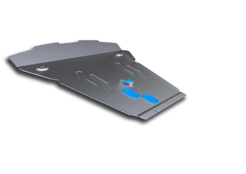 Защита картера Rival, для BMW X6. 333.0504.1333.0504.1Защита картера для BMW X6 , 30d; 35i 2008-2014 2014-, крепеж в комплекте, алюминий 4 мм, Rival. Надежно защищают днище вашего автомобиля от повреждений, например при наезде на бордюры, а также выполняют эстетическую функцию при установке на высокие автомобили.- Толщина алюминиевых защит в 2 раза толще стальных, а вес при этом меньше до 30%.- Отлично отводит тепло от двигателя своей поверхностью, что спасает двигатель от перегрева в летний период или при высоких нагрузках.- В отличие от стальных, алюминиевые защиты не поддаются коррозии, что гарантирует срок службы защит более 5 лет.- Покрываются порошковой краской, что надолго сохраняет первоначальный вид новой защиты и защищает от гальванической коррозии.- Глубокий штамп дополнительно усиливает конструкцию защиты.- Подштамповка в местах крепления защищает крепеж от срезания.- Технологические отверстия там, где они необходимы для смены масла и слива воды, оборудованные заглушками, надежно закрепленными на защите.Уважаемые клиенты!Обращаем ваше внимание, на тот факт, что защита имеет форму, соответствующую модели данного автомобиля. Фото служит для визуального восприятия товара.