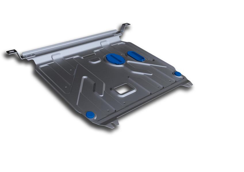 Защита картера и КПП Rival, для Hyundai Solaris/Kia Rio III. 333.2343.1333.2343.1Защита картера и КПП для Hyundai Solaris , V - 1,4, 1,6 2011-2016, крепеж в комплекте, алюминий 3 мм, Rival. Надежно защищают днище вашего автомобиля от повреждений, например при наезде на бордюры, а также выполняют эстетическую функцию при установке на высокие автомобили.- Толщина алюминиевых защит в 2 раза толще стальных, а вес при этом меньше до 30%.- Отлично отводит тепло от двигателя своей поверхностью, что спасает двигатель от перегрева в летний период или при высоких нагрузках.- В отличие от стальных, алюминиевые защиты не поддаются коррозии, что гарантирует срок службы защит более 5 лет.- Покрываются порошковой краской, что надолго сохраняет первоначальный вид новой защиты и защищает от гальванической коррозии.- Глубокий штамп дополнительно усиливает конструкцию защиты.- Подштамповка в местах крепления защищает крепеж от срезания.- Технологические отверстия там, где они необходимы для смены масла и слива воды, оборудованные заглушками, надежно закрепленными на защите.Уважаемые клиенты!Обращаем ваше внимание, на тот факт, что защита имеет форму, соответствующую модели данного автомобиля. Фото служит для визуального восприятия товара.