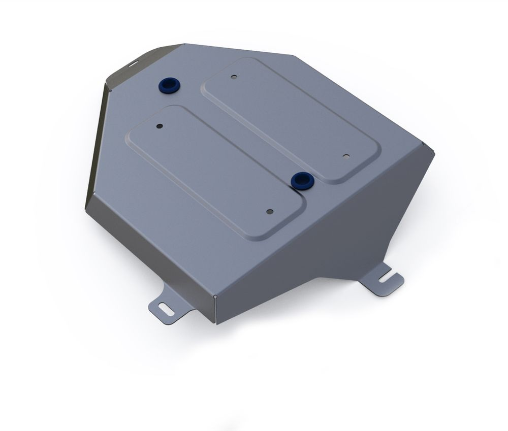 Защита топливного бака Rival, для Hyundai Tucson III. 333.2358.1333.2358.1Защита топливного бака для Hyundai Tucson АКПП, 4WD V-1,6T(177hp),2,0MPI, 2,0CRDI 2015-, крепеж в комплекте, алюминий 4 мм, Rival. Надежно защищают днище вашего автомобиля от повреждений, например при наезде на бордюры, а также выполняют эстетическую функцию при установке на высокие автомобили.- Толщина алюминиевых защит в 2 раза толще стальных, а вес при этом меньше до 30%.- Отлично отводит тепло от двигателя своей поверхностью, что спасает двигатель от перегрева в летний период или при высоких нагрузках.- В отличие от стальных, алюминиевые защиты не поддаются коррозии, что гарантирует срок службы защит более 5 лет.- Покрываются порошковой краской, что надолго сохраняет первоначальный вид новой защиты и защищает от гальванической коррозии.- Глубокий штамп дополнительно усиливает конструкцию защиты.- Подштамповка в местах крепления защищает крепеж от срезания.- Технологические отверстия там, где они необходимы для смены масла и слива воды, оборудованные заглушками, надежно закрепленными на защите.Уважаемые клиенты!Обращаем ваше внимание, на тот факт, что защита имеет форму, соответствующую модели данного автомобиля. Фото служит для визуального восприятия товара.