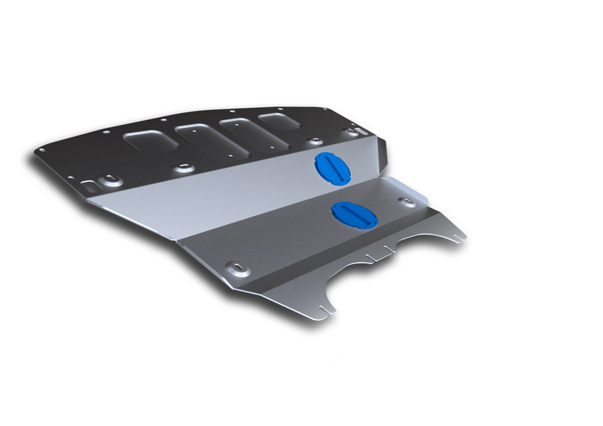 Защита картера Rival, для Infiniti Q 50. 333.2417.1333.2417.1Защита картера для Infiniti Q50 из алюминия толщиной 4 мм, надежно защитит днище вашего автомобиля от повреждений, например при наезде на бордюры, а также выполняет эстетическую функцию при установке на высокие автомобили.- Толщина алюминиевых защит в 2 раза толще стальных, а вес при этом меньше до 30%.- Отлично отводит тепло от двигателя своей поверхностью, что спасает двигатель от перегрева в летний период или при высоких нагрузках.- В отличие от стальных, алюминиевые защиты не поддаются коррозии, что гарантирует срок службы защит более 5 лет.- Покрываются порошковой краской, что надолго сохраняет первоначальный вид новой защиты и защищает от гальванической коррозии.- Глубокий штамп дополнительно усиливает конструкцию защиты.- Подштамповка в местах крепления защищает крепеж от срезания.- Технологические отверстия там, где они необходимы для смены масла и слива воды, оборудованные заглушками, надежно закрепленными на защите.Крепеж в комплекте. Уважаемые клиенты!Обращаем ваше внимание, на тот факт, что защита имеет форму, соответствующую модели данного автомобиля. Фото служит для визуального восприятия товара.