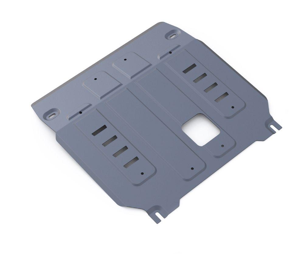 Защита картера и КПП Rival, для Kia Sorento Prime. 333.2831.1333.2831.1Защита картера и КПП для Kia Sorento Prime 4WD, V- 2,2CRDi; 2,4 2015-, крепеж в комплекте, алюминий 4 мм, Rival. Надежно защищают днище вашего автомобиля от повреждений, например при наезде на бордюры, а также выполняют эстетическую функцию при установке на высокие автомобили.- Толщина алюминиевых защит в 2 раза толще стальных, а вес при этом меньше до 30%.- Отлично отводит тепло от двигателя своей поверхностью, что спасает двигатель от перегрева в летний период или при высоких нагрузках.- В отличие от стальных, алюминиевые защиты не поддаются коррозии, что гарантирует срок службы защит более 5 лет.- Покрываются порошковой краской, что надолго сохраняет первоначальный вид новой защиты и защищает от гальванической коррозии.- Глубокий штамп дополнительно усиливает конструкцию защиты.- Подштамповка в местах крепления защищает крепеж от срезания.- Технологические отверстия там, где они необходимы для смены масла и слива воды, оборудованные заглушками, надежно закрепленными на защите.Уважаемые клиенты!Обращаем ваше внимание, на тот факт, что защита имеет форму, соответствующую модели данного автомобиля. Фото служит для визуального восприятия товара.