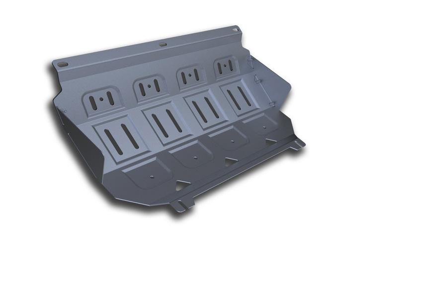 Защита радиатора Rival, для Mitsubishi L200 / Pajero Sport. 333.4005.1333.4005.1Защита радиатора для Mitsubishi Pajero Sport , V - все 2008-2016, крепеж в комплекте, алюминий 4 мм, Rival. Надежно защищают днище вашего автомобиля от повреждений, например при наезде на бордюры, а также выполняют эстетическую функцию при установке на высокие автомобили.- Толщина алюминиевых защит в 2 раза толще стальных, а вес при этом меньше до 30%.- Отлично отводит тепло от двигателя своей поверхностью, что спасает двигатель от перегрева в летний период или при высоких нагрузках.- В отличие от стальных, алюминиевые защиты не поддаются коррозии, что гарантирует срок службы защит более 5 лет.- Покрываются порошковой краской, что надолго сохраняет первоначальный вид новой защиты и защищает от гальванической коррозии.- Глубокий штамп дополнительно усиливает конструкцию защиты.- Подштамповка в местах крепления защищает крепеж от срезания.- Технологические отверстия там, где они необходимы для смены масла и слива воды, оборудованные заглушками, надежно закрепленными на защите.Уважаемые клиенты!Обращаем ваше внимание, на тот факт, что защита имеет форму, соответствующую модели данного автомобиля. Фото служит для визуального восприятия товара.