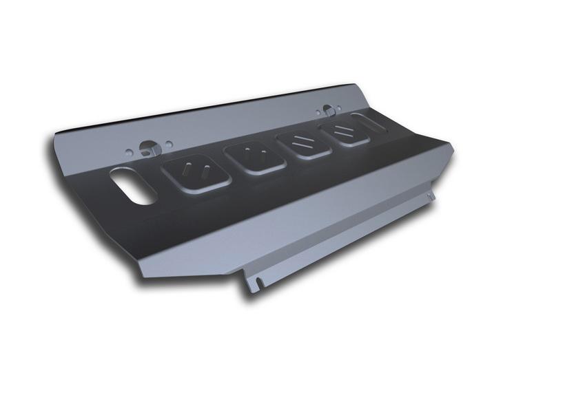 Защита радиатора Rival, для Mitsubishi Pajero IV. 333.4012.1333.4012.1Защита радиатора для Mitsubishi Pajero IV , V - 3,0; 3,2(188hp, 200hp); 3,8 2006-2011 2011-2016, крепеж в комплекте, алюминий 4 мм, Rival.Надежно защищает днище вашего автомобиля от повреждений, например при наезде на бордюры, а также выполняют эстетическую функцию при установке на высокие автомобили.- Толщина алюминиевых защит в 2 раза толще стальных, а вес при этом меньше до 30%.- Отлично отводит тепло от двигателя своей поверхностью, что спасает двигатель от перегрева в летний период или при высоких нагрузках.- В отличие от стальных, алюминиевые защиты не поддаются коррозии, что гарантирует срок службы защит более 5 лет.- Покрываются порошковой краской, что надолго сохраняет первоначальный вид новой защиты и защищает от гальванической коррозии.- Глубокий штамп дополнительно усиливает конструкцию защиты.- Подштамповка в местах крепления защищает крепеж от срезания.- Технологические отверстия там, где они необходимы для смены масла и слива воды, оборудованные заглушками, надежно закрепленными на защите.Уважаемые клиенты!Обращаем ваше внимание, на тот факт, что защита имеет форму, соответствующую модели данного автомобиля. Фото служит для визуального восприятия товара.