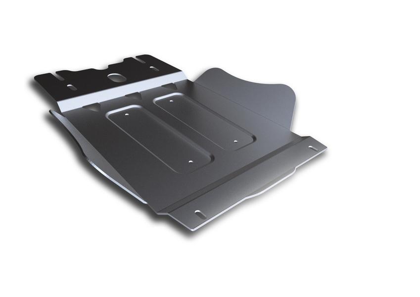 Защита КПП Rival, для Mitsubishi L200/Pajero Sport. 333.4024.1333.4024.1Защита КПП Rival изготовленная из алюминия толщиной 4 мм, надежно защитит днище вашего автомобиля от повреждений, например при наезде на бордюры, а также выполняет эстетическую функцию при установке на высокие автомобили.- Толщина алюминиевых защит в 2 раза толще стальных, а вес при этом меньше до 30%.- Отлично отводит тепло от двигателя своей поверхностью, что спасает двигатель от перегрева в летний период или при высоких нагрузках.- В отличие от стальных, алюминиевые защиты не поддаются коррозии, что гарантирует срок службы защит более 5 лет.- Покрываются порошковой краской, что надолго сохраняет первоначальный вид новой защиты и защищает от гальванической коррозии.- Глубокий штамп дополнительно усиливает конструкцию защиты.- Подштамповка в местах крепления защищает крепеж от срезания.- Технологические отверстия там, где они необходимы для смены масла и слива воды, оборудованные заглушками, надежно закрепленными на защите.Крепеж в комплекте. Уважаемые клиенты!Обращаем ваше внимание, на тот факт, что защита имеет форму, соответствующую модели данного автомобиля. Фото служит для визуального восприятия товара.