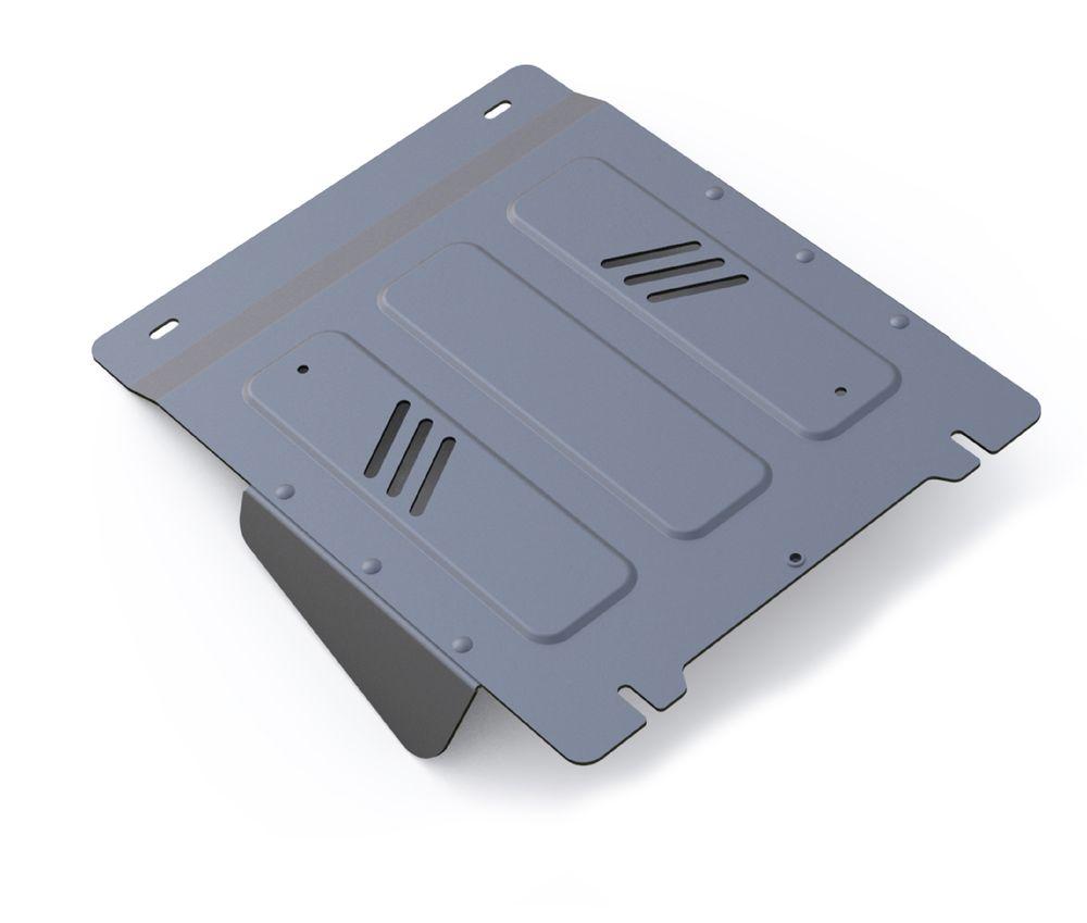 Защита КПП Rival, для Mitsubishi L200. 333.4042.1333.4042.1Защита КПП для Mitsubishi L200 4WD , V - 2,4DID; 2,4DID H.P. 2015-, крепеж в комплекте, алюминий 4 мм, Rival. Надежно защищают днище вашего автомобиля от повреждений, например при наезде на бордюры, а также выполняют эстетическую функцию при установке на высокие автомобили.- Толщина алюминиевых защит в 2 раза толще стальных, а вес при этом меньше до 30%.- Отлично отводит тепло от двигателя своей поверхностью, что спасает двигатель от перегрева в летний период или при высоких нагрузках.- В отличие от стальных, алюминиевые защиты не поддаются коррозии, что гарантирует срок службы защит более 5 лет.- Покрываются порошковой краской, что надолго сохраняет первоначальный вид новой защиты и защищает от гальванической коррозии.- Глубокий штамп дополнительно усиливает конструкцию защиты.- Подштамповка в местах крепления защищает крепеж от срезания.- Технологические отверстия там, где они необходимы для смены масла и слива воды, оборудованные заглушками, надежно закрепленными на защите.Уважаемые клиенты!Обращаем ваше внимание, на тот факт, что защита имеет форму, соответствующую модели данного автомобиля. Фото служит для визуального восприятия товара.