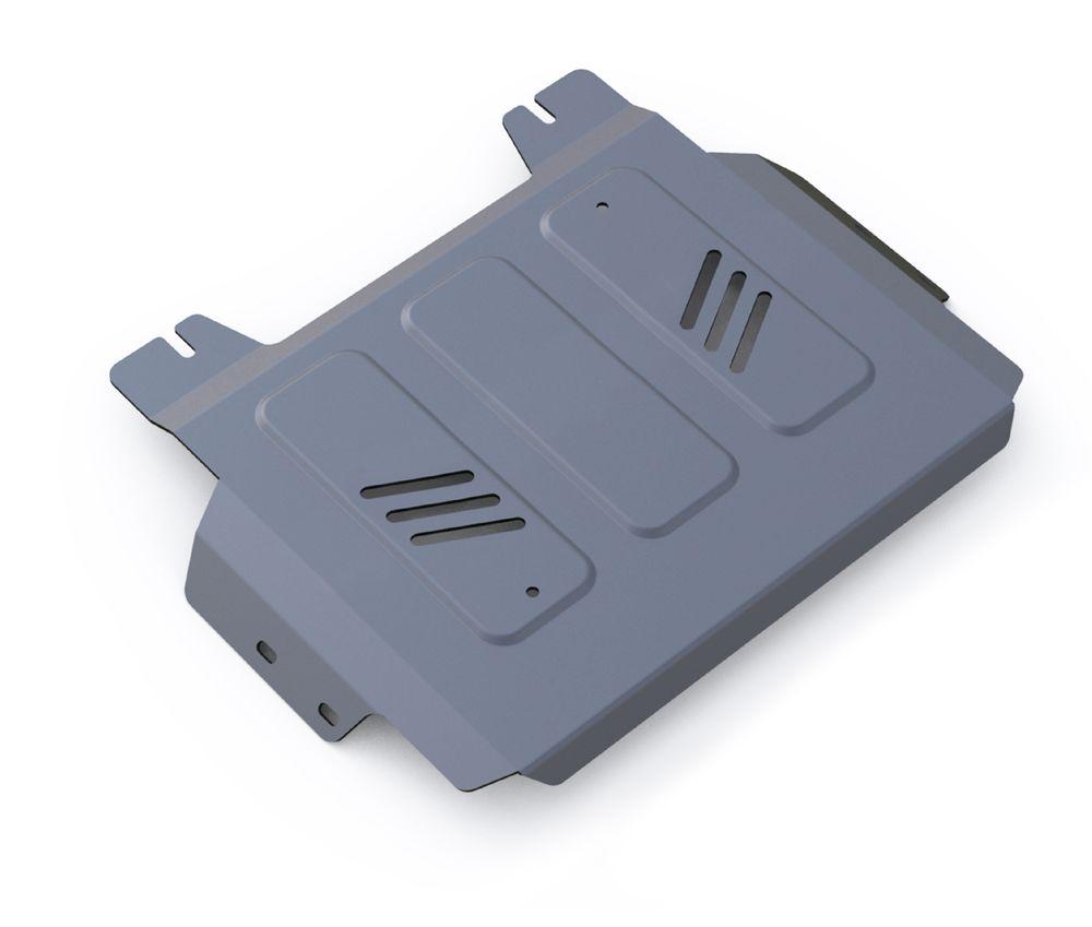 Защита раздатки Rival, для Mitsubishi L200. 333.4043.1333.4043.1Защита РК для Mitsubishi L200 4WD , V - 2,4DID; 2,4DID H.P. 2015-, крепеж в комплекте, алюминий 4 мм, Rival. Надежно защищают днище вашего автомобиля от повреждений, например при наезде на бордюры, а также выполняют эстетическую функцию при установке на высокие автомобили.- Толщина алюминиевых защит в 2 раза толще стальных, а вес при этом меньше до 30%.- Отлично отводит тепло от двигателя своей поверхностью, что спасает двигатель от перегрева в летний период или при высоких нагрузках.- В отличие от стальных, алюминиевые защиты не поддаются коррозии, что гарантирует срок службы защит более 5 лет.- Покрываются порошковой краской, что надолго сохраняет первоначальный вид новой защиты и защищает от гальванической коррозии.- Глубокий штамп дополнительно усиливает конструкцию защиты.- Подштамповка в местах крепления защищает крепеж от срезания.- Технологические отверстия там, где они необходимы для смены масла и слива воды, оборудованные заглушками, надежно закрепленными на защите.Уважаемые клиенты!Обращаем ваше внимание, на тот факт, что защита имеет форму, соответствующую модели данного автомобиля. Фото служит для визуального восприятия товара.