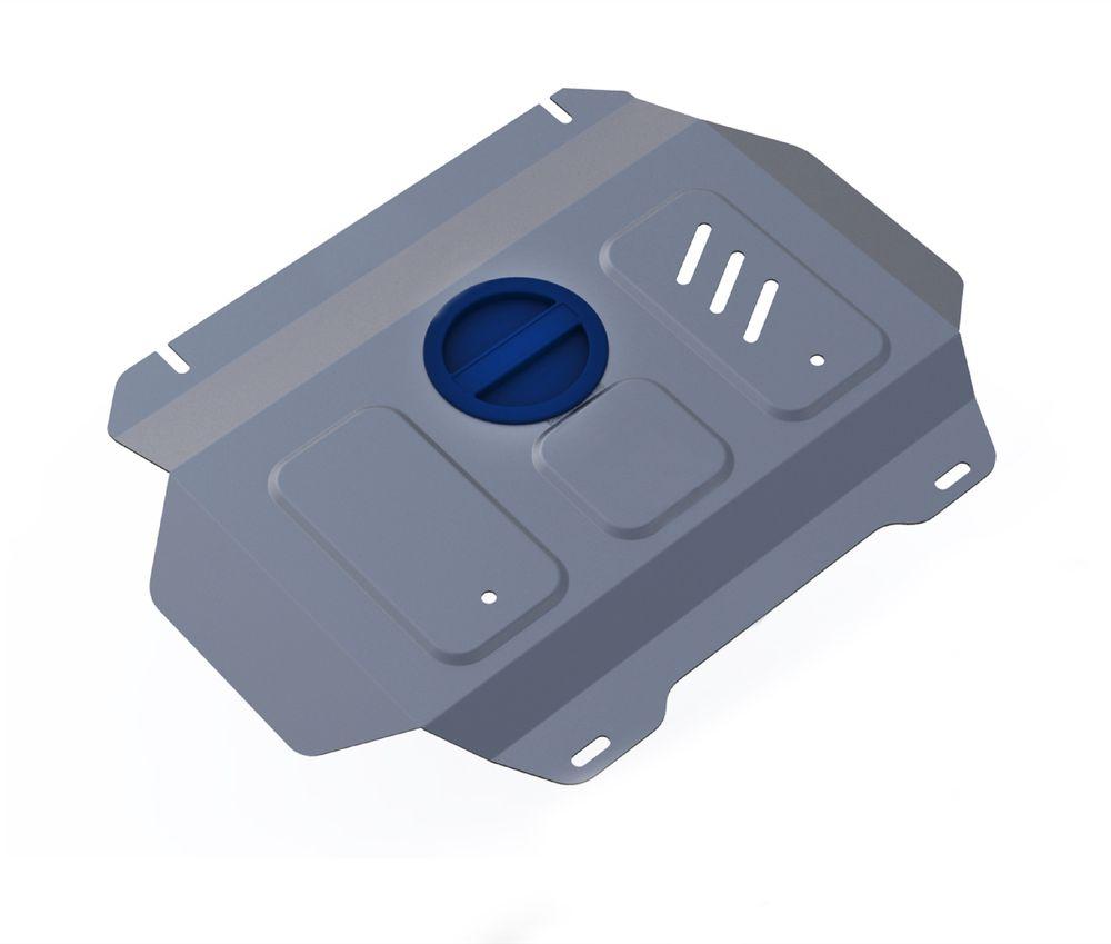 Защита радиатора и картера Rival, для Toyota Hilux. 3.9502.13.9502.1Защита радиатора и картера часть 2 для Toyota Hilux 4WD, V - 2,4; 2,8 2015- , без крепежа (штатный), алюминий 4 мм, Rival. Надежно защищают днище вашего автомобиля от повреждений, например при наезде на бордюры, а также выполняют эстетическую функцию при установке на высокие автомобили.- Толщина алюминиевых защит в 2 раза толще стальных, а вес при этом меньше до 30%.- Отлично отводит тепло от двигателя своей поверхностью, что спасает двигатель от перегрева в летний период или при высоких нагрузках.- В отличие от стальных, алюминиевые защиты не поддаются коррозии, что гарантирует срок службы защит более 5 лет.- Покрываются порошковой краской, что надолго сохраняет первоначальный вид новой защиты и защищает от гальванической коррозии.- Глубокий штамп дополнительно усиливает конструкцию защиты.- Подштамповка в местах крепления защищает крепеж от срезания.- Технологические отверстия там, где они необходимы для смены масла и слива воды, оборудованные заглушками, надежно закрепленными на защите.Уважаемые клиенты!Обращаем ваше внимание, на тот факт, что защита имеет форму, соответствующую модели данного автомобиля. Фото служит для визуального восприятия товара.