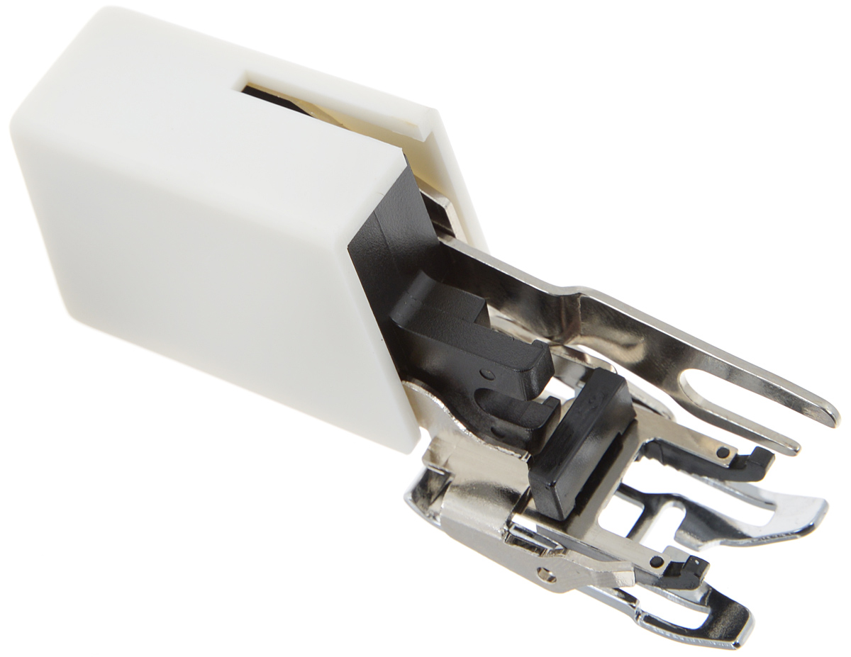 Лапка-верхний транспортер для швейной машины Aurora, шагающаяAU-118Шагающая лапка-верхний транспортер для швейной машины Aurora очень удобна при шитье виниловой ткани, синтетической кожи, шелка, атласа и других материалов, трудных для подачи обычным транспортером. Предотвращает смещение слоев ткани относительно друг друга, незаменима при шитье скользких тканей для получения ровной строчки.Подходит для большинства современных бытовых швейных машин. Инструкция по использованию прилагается.