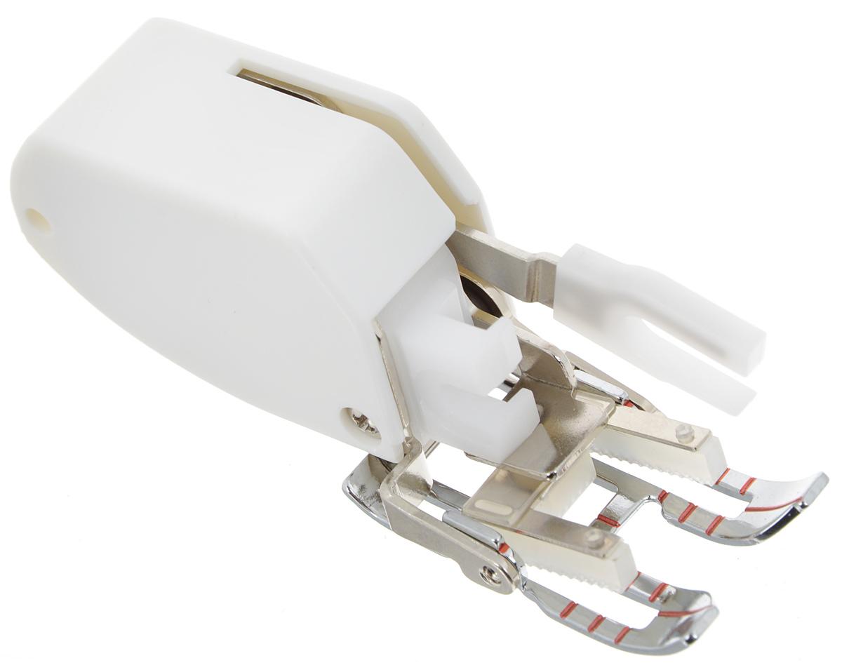 Лапка для швейной машины Aurora, открытая, шагающая, 7 ммAU-152Открытая шагающая лапка (верхний транспортер) для швейной машины Aurora очень удобна при шитье виниловой ткани, синтетической кожи, шелка, атласа и других материалов, трудных для подачи обычным транспортером. Предотвращает смещение слоев ткани относительно друг друга, незаменима при шитье скользких тканей для получения ровной строчки.Подходит для большинства современных бытовых швейных машин. Инструкция по использованию прилагается.