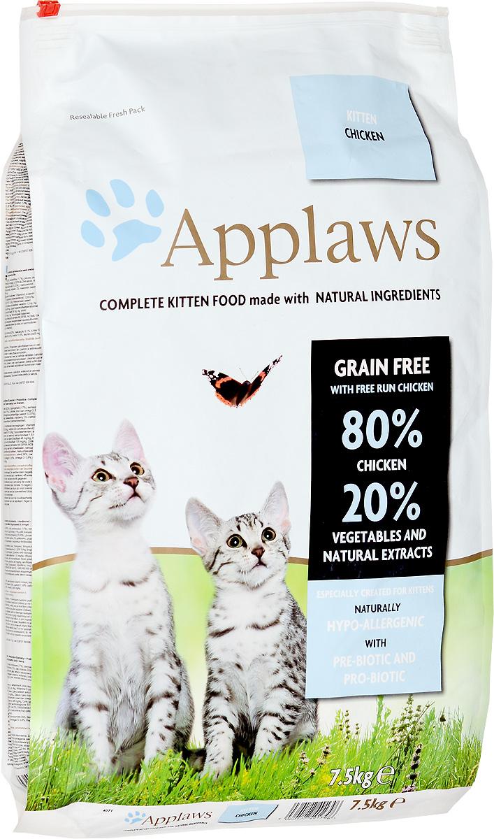Корм сухой Applaws для котят, беззерновой, с курицей и овощами, 7,5 кг24399Беззерновой корм для кошек Applaws изготовлен по особым рецептам, разработанными диетологами института Великобритании. Правильная диета очень важна для питомцев, ведь она меняется в зависимости от жизненного цикла. Также полнорационные корма должны включать в себя необходимое количество витаминов и минералов. В рецептах сухих кормов Applaws учтен не только перечень наиболее необходимых минералов и витаминов, но и их строгий баланс. Так как сухой корм изготавливается только из натуральных качественных ингредиентов, крокеты привлекут внимание любого, даже очень привередливого питомца. Состав: сушеное мясо цыпленка (62%), фарш из куриного мяса (17%), картофель, пивные дрожжи, свекловичный жом, куриная подливка (1%), лососевый жир, источник омега-3, ЭПК и ДГК, витамины и минералы, сушеное яйцо, целлюлозное растительное волокно (0,03%), хлорид натрия, карбонат кальция, морские водоросли, клюква, ДЛ-метионин, хлорид калия, экстракт юкки, экстракт из цитрусовых, экстракт розмарина. Пищевые добавки: Витамин А (ретинилацетат) 27850 МЕ/кг, Витамн D3 (холекальциферол) 1200 МЕ/кг, Витамин Е (альфа-токоферола ацетат) 615 мг/кг, микроэлементы: селен из селенита натрия 0,13 мг/кг, йод из йодата кальция безводного 1,5 мг/кг, железоиз сульфата железа моногидрата 80 мг/кг, медь из сульфата меди пентагидрата 48 мг/кг, марганец из сульфата марганца моногидрата 38 мг/кг, цинк из сульфата цинка моногидрата 135 мг/кг. Гарантированный анализ: белки - 38%, сырые масла и жиры - 20%, сырая клетчатка - 2,1%, минеральные вещества - 10,5%, омега 6 - 3,8%, омега 3 - 0,8%, кальций - 2,3%, фосфор - 1,5%, таурин - 2000 мг/кг.Товар сертифицирован.