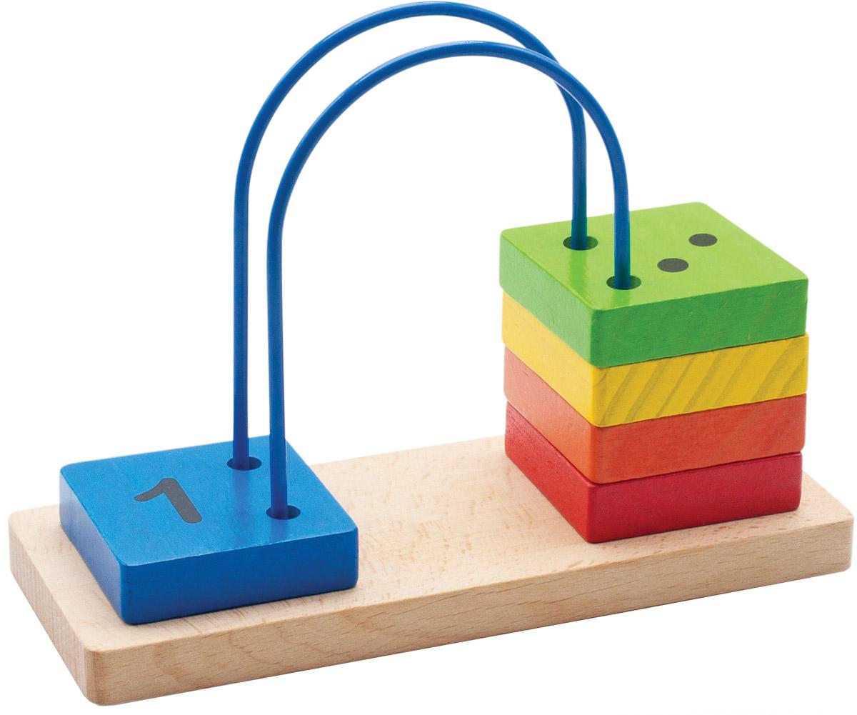 Мир деревянных игрушек Счеты перекидные малые игрушка мир деревянных игрушек лабиринт слон д345
